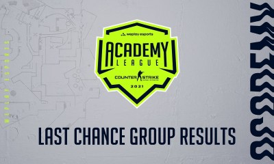 WePlay Academy League Season 2 Last Chance Group Results