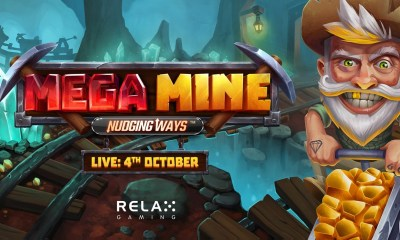 Relax Gaming strikes gold with new feature in Mega Mine: Nudging Ways