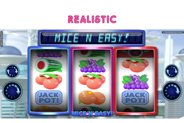 REALISTIC GAMES MAKE 'N' MICE EASY!  IN THE LAST SLOT RELEASE