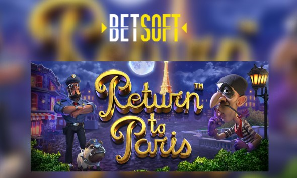 Betsoft Gaming releases crime caper of the year with Return to Paris™