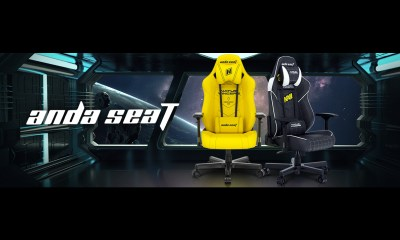 Are You Ready For a New Level of Gaming? Get Ready for AndaSeat's Navi Edition Gaming Chair!