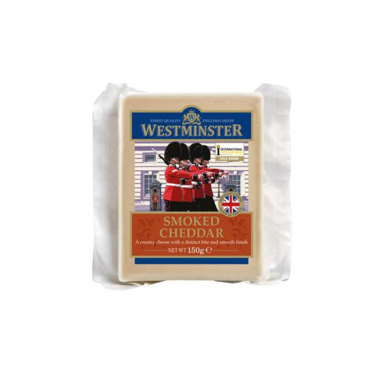 Westminster Smoked Cheddar Cheese 150g
