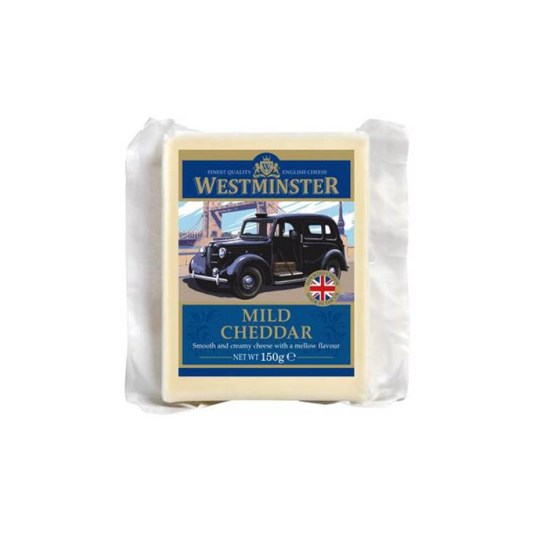 Westminster Mild Cheddar Cheese 150g