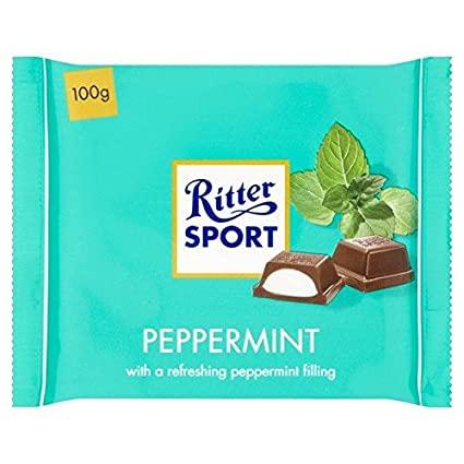 Ritter Sport Dark Chocolate Peppermint 100g