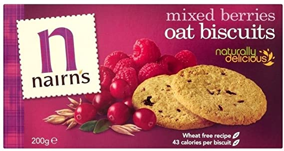 Nairn's Mixed Berries Oatcake 200g
