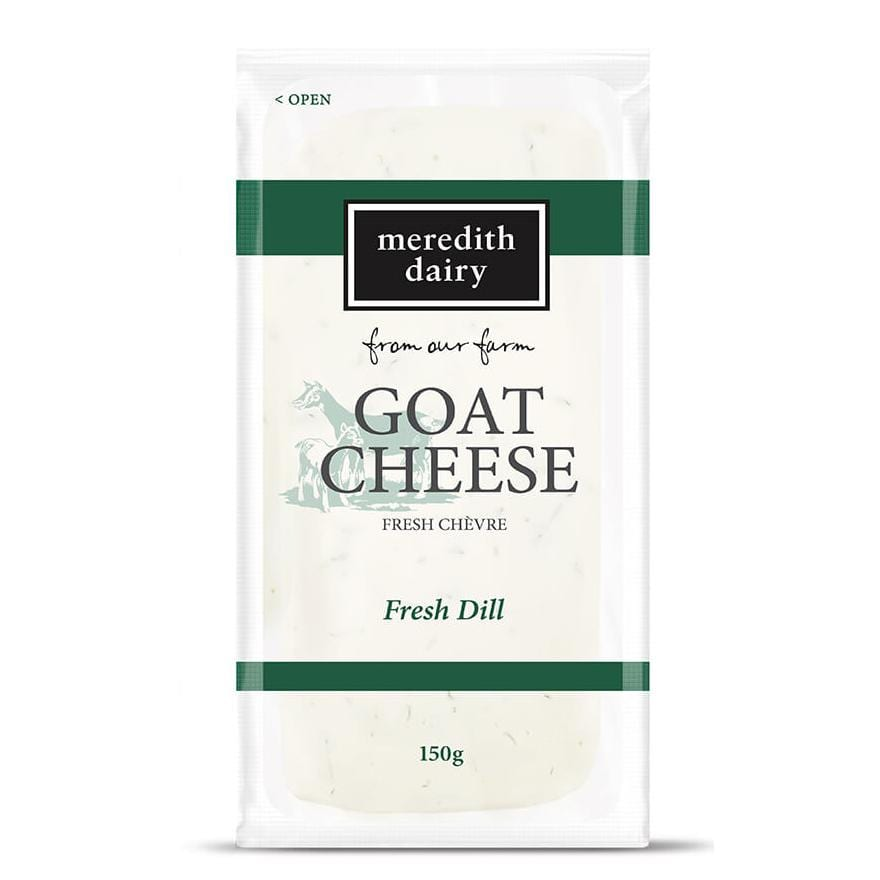 Meredith Dairy Goat Cheese Fresh Dill 150g