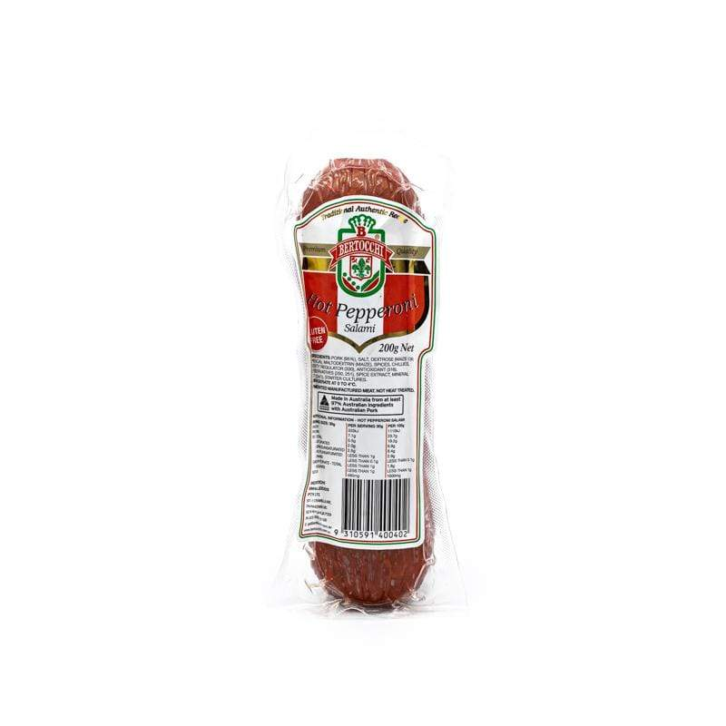 Bertocchi Hot Pepperoni Salami 200g