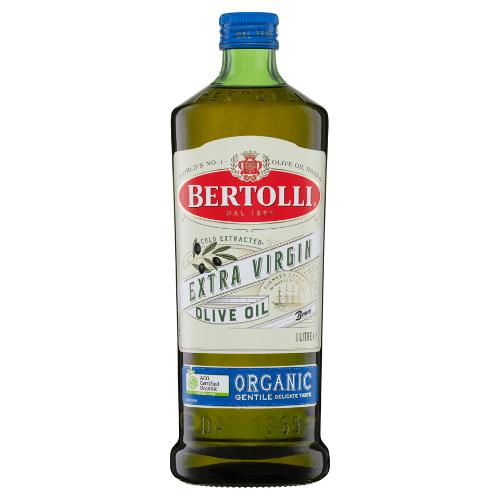 Bertolli Extra Virgin Olive Oil Organic 1litre