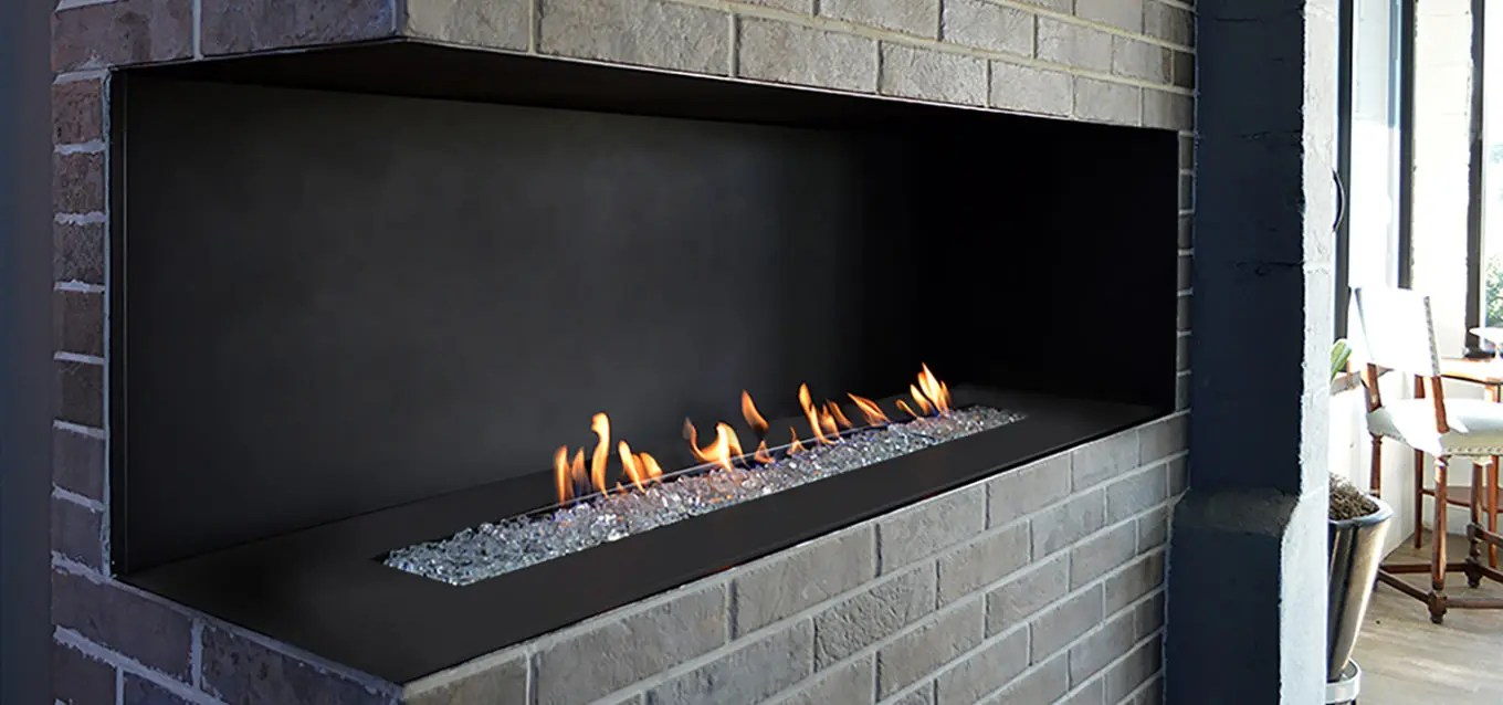 Efficiency Of Gas Fireplaces H Series By European Home | Modern Corner Fireplace | Vent