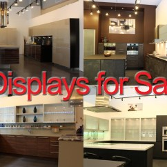 Kitchen Displays For Sale Appliance Packages Stainless Steel Alno San Francisco European Design