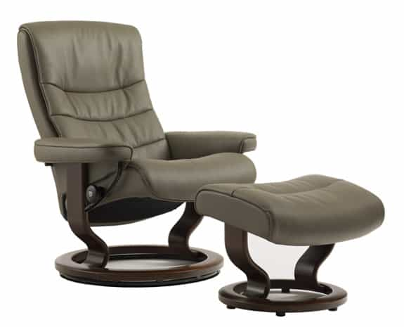 stressless chairs reviews teen bean bag best prices—ekornes nordic recliner with ottoman