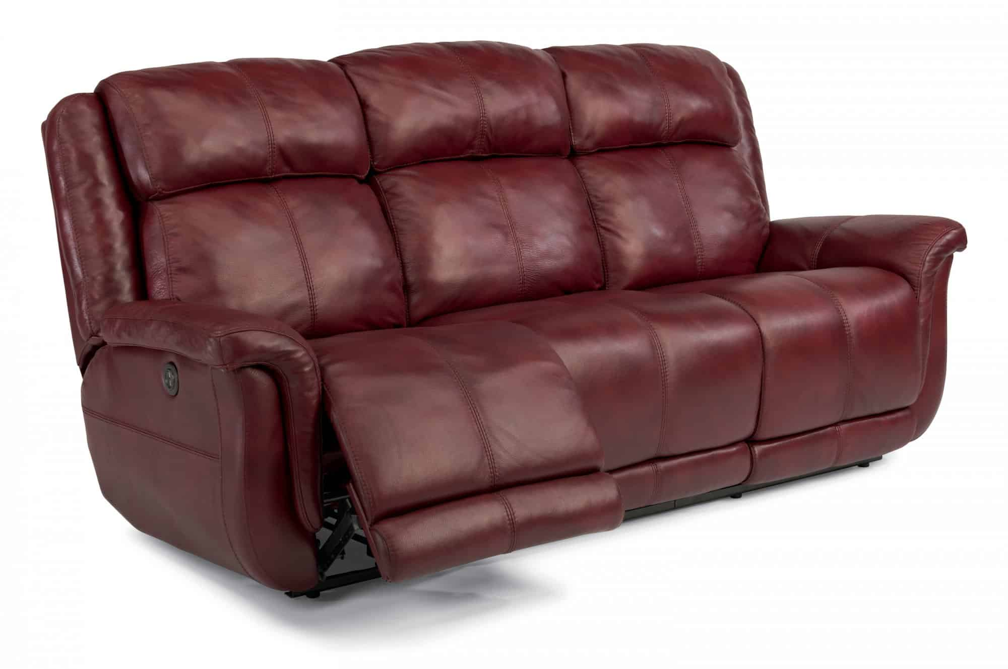 flexsteel leather sofa reviews couch cover sofas  brookings european