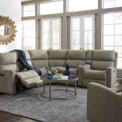 Leather Dining Chairs Pottery Barn Blue Chair Covers For Weddings Best Prices Online Flexsteel Sectionals — Catalina Sectional Sofa