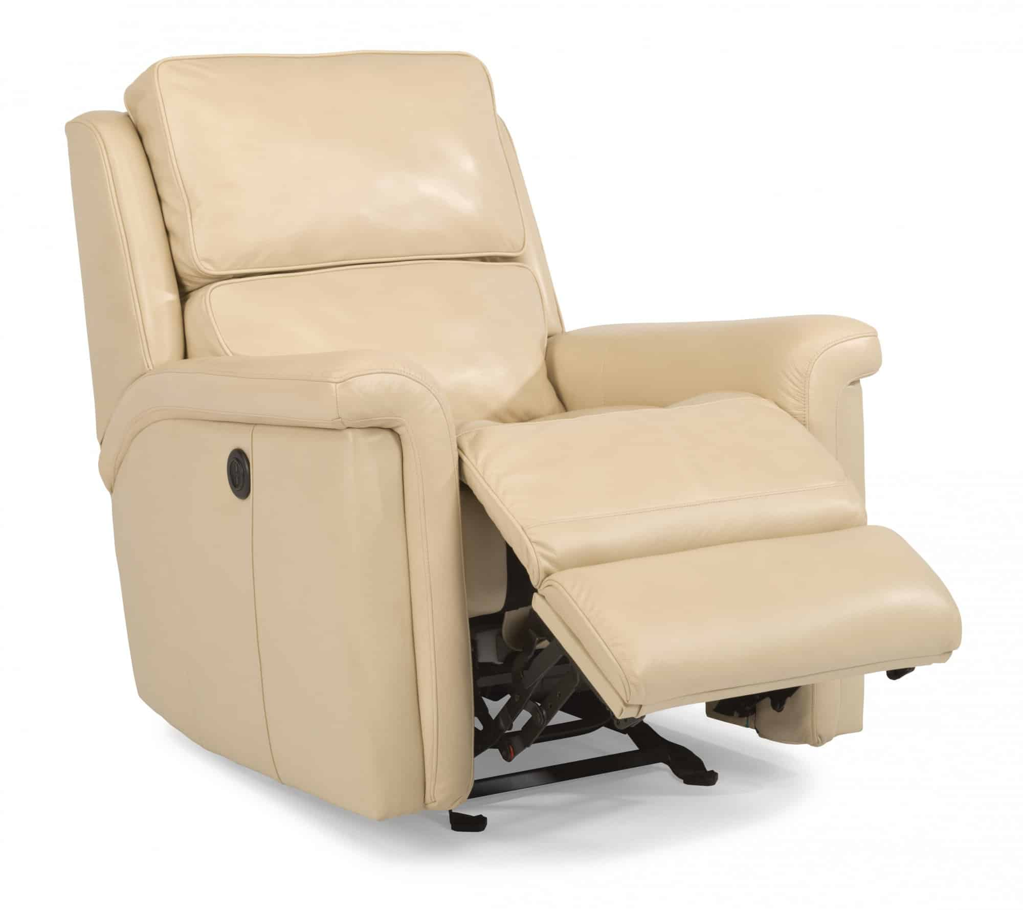 flexsteel chair prices ergonomic folding chairs best on recliners tosha leather or fabric