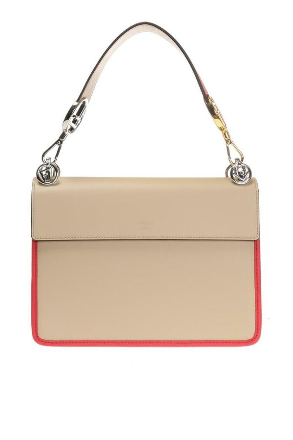 Fendi 8bt284 kani f handbag beige red