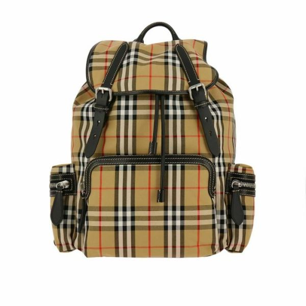 BURBERRY 4069748 LARGE RUCKSACK BACKPACK ANTIQUE YELLOW
