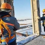 Consejos para trabajar en altura con seguridad durante el invierno