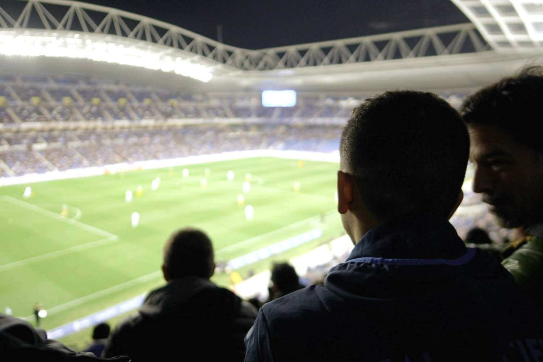 Watching Real Sociedad at the new Anoeta Stadium
