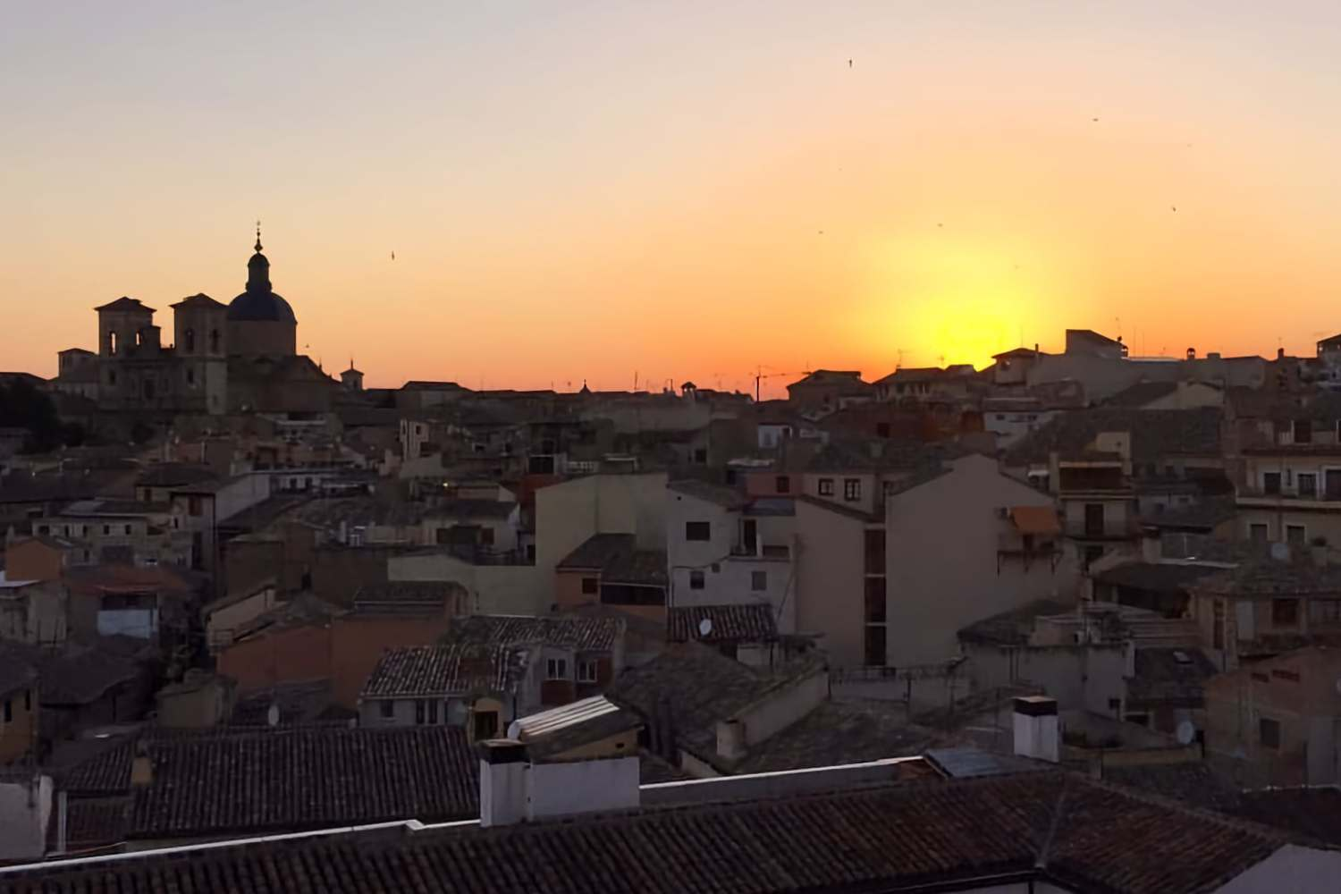 Sunset over Toledo - a UNESCO World Heritage Site
