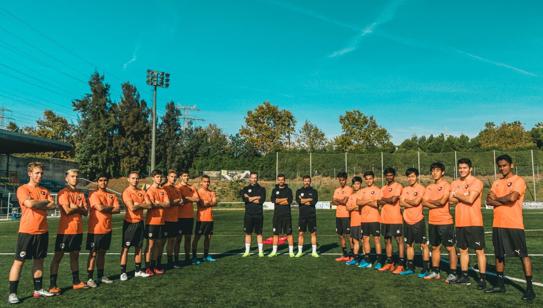 B1 Academy team photo