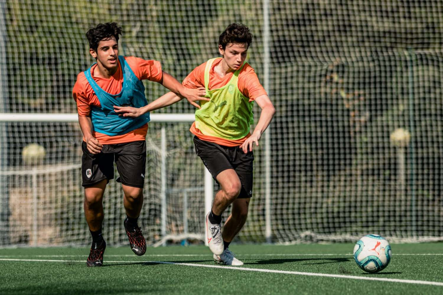 Challenge during B1 training session