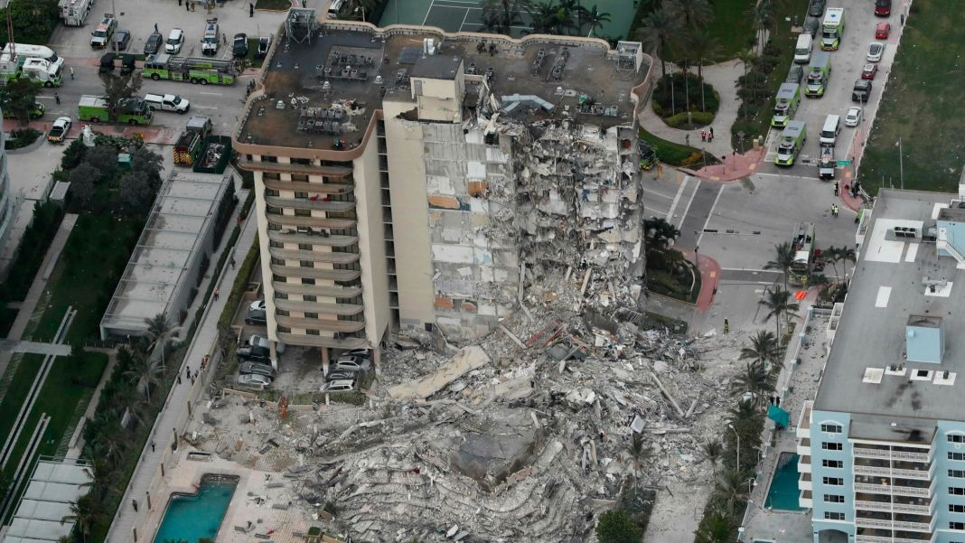 Nearly 100 Missing People After Miami Building Collapse