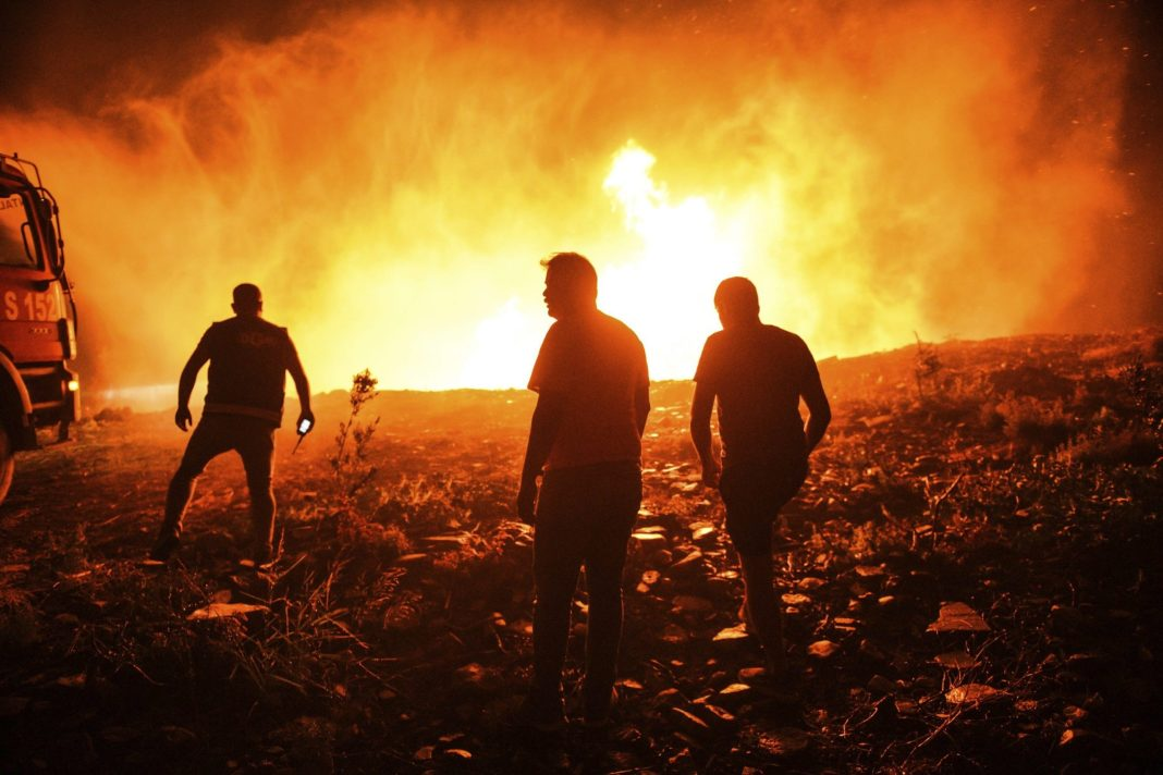 Deaths Reported As Turkey Fights Forest Fire