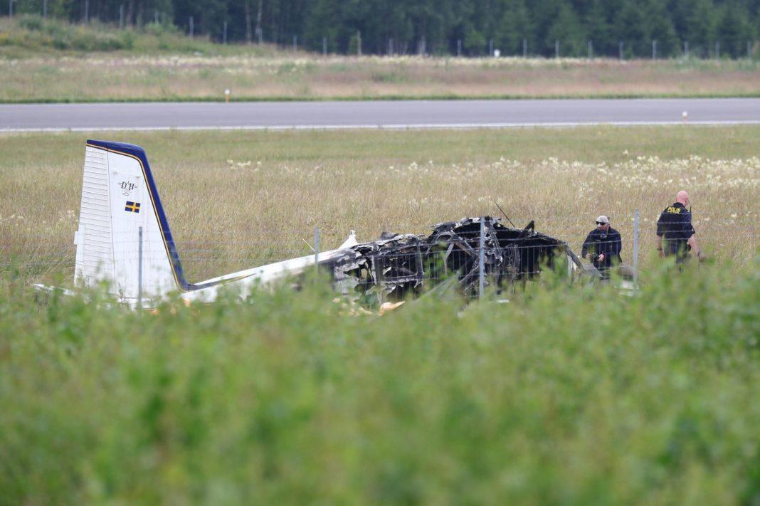 9 Killed in Swedish Skydiving Plane Crash