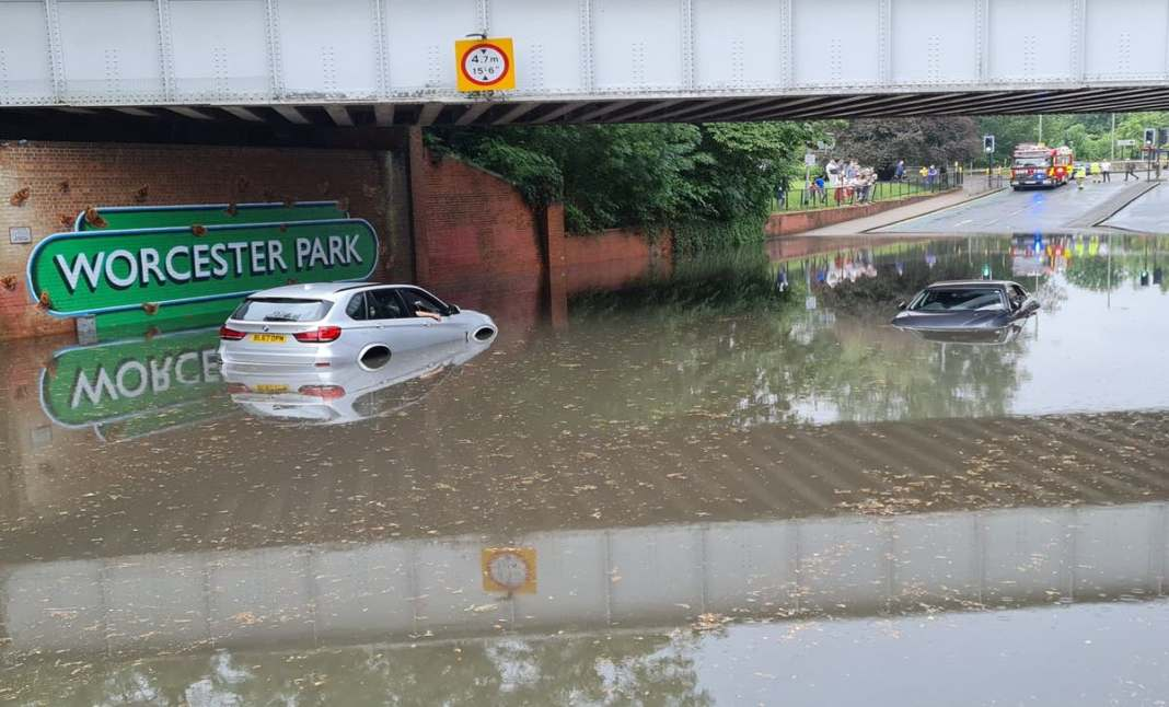 Warning of Rain Storm and Fresh Floods in UK