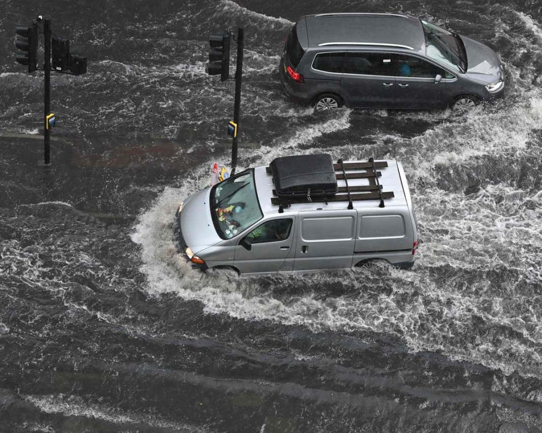 Two Hospitals hit with Territorial Floods in London
