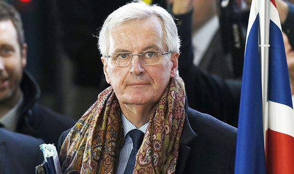 "Barnier for""ambitious"" free trade deal"