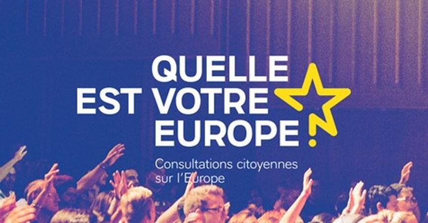 Rapport final des Consultations Citoyennes sur l'Europe
