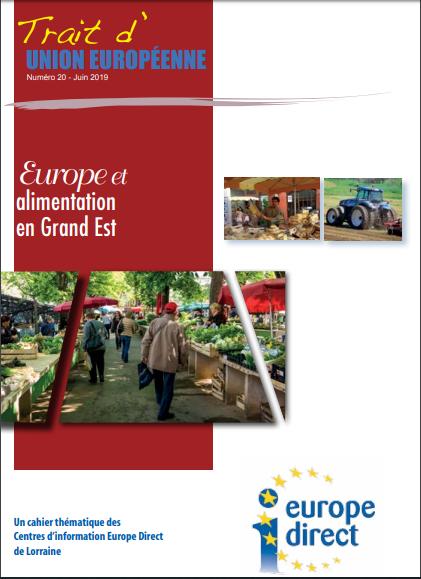 Nouvelle publication TUE : L'Europe et l'alimentation en Grand Est