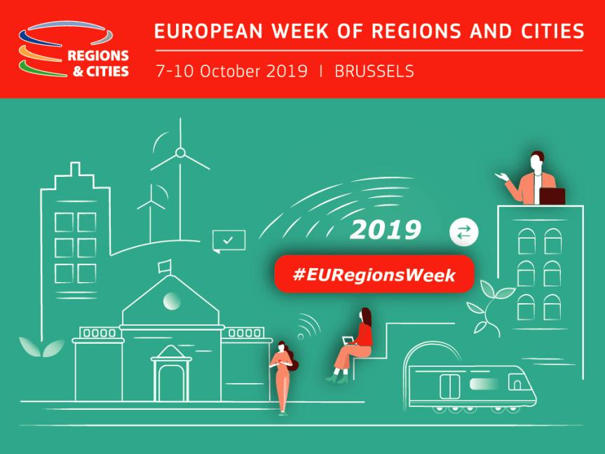 La Semaine européenne des régions et des villes 2019: c'est parti!