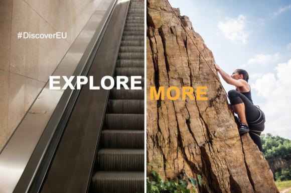 T'es jeune et tu souhaites partir à la découverte de l'Europe? Candidate à Discover EU!