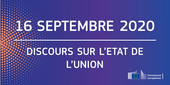 SAVE THE DATE: Discours sur l'Etat de l'Union 16/09
