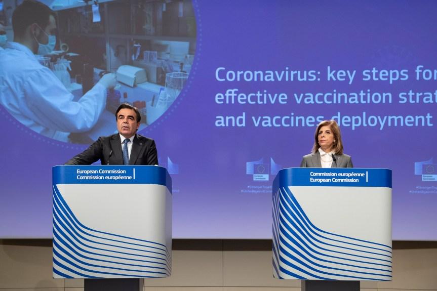 La Commission européenne a approuvé un troisième contrat avec une société pharmaceutique pour l'accès à un vaccin potentiel