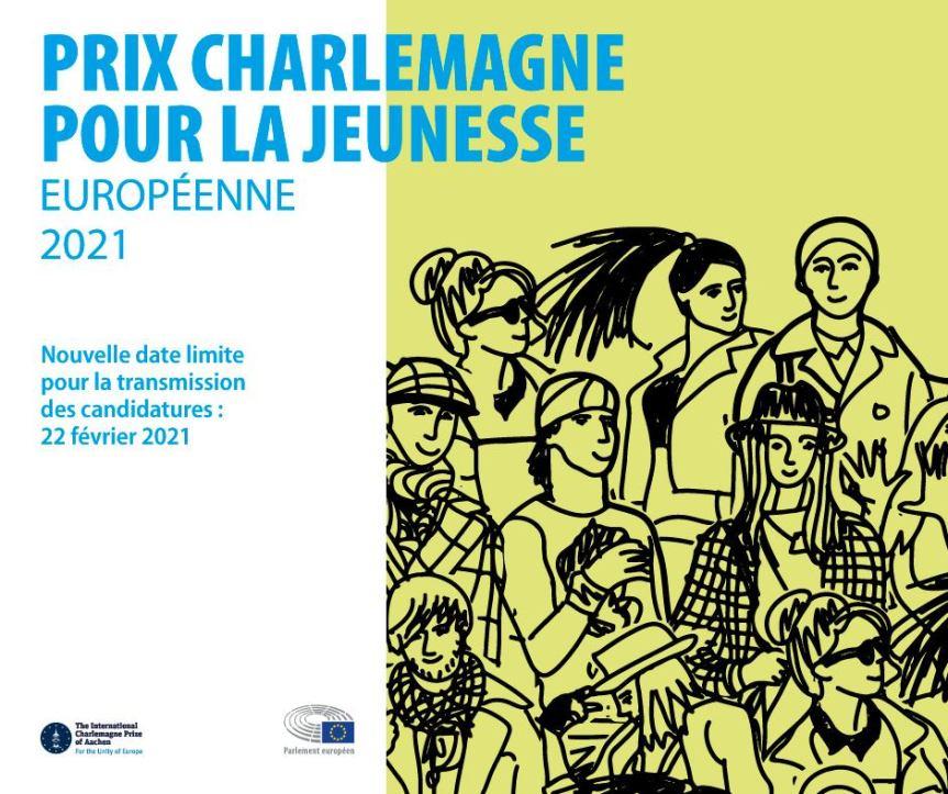 Dernière chance de participer au Prix Charlemagne pour la Jeunesse