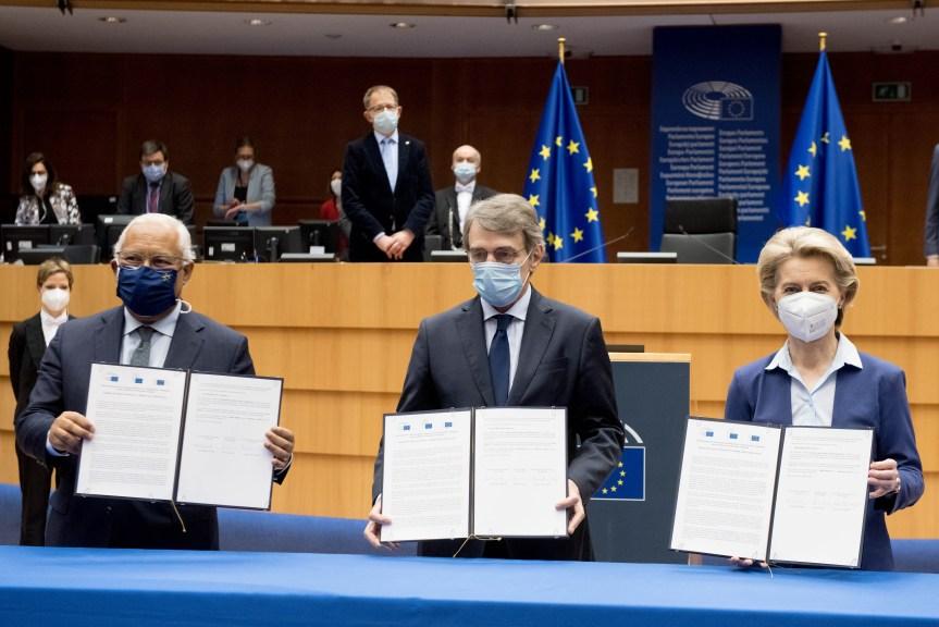 La Conférence sur l'avenir de l'Europe : un accord trouvé !