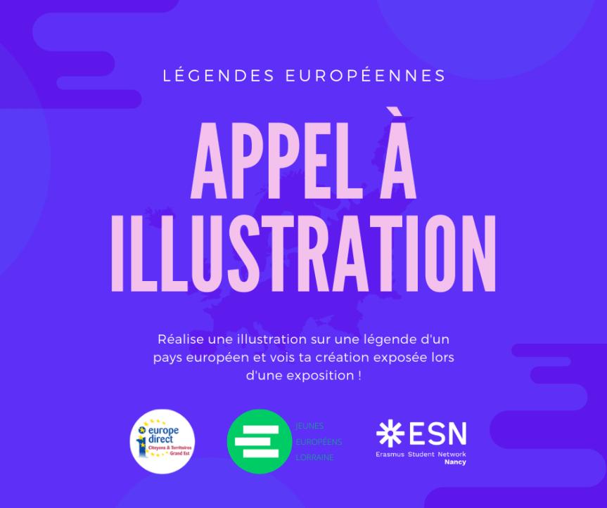 Appel à illustrations – Légendes Européennes
