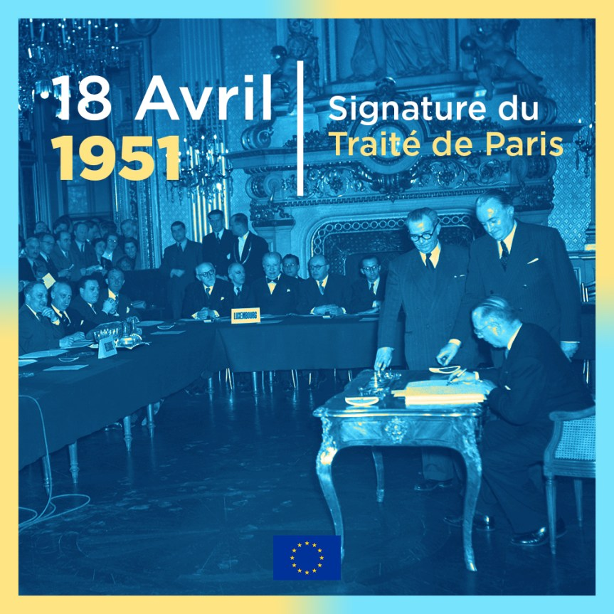 70e anniversaire de la Communauté européenne du charbon et de l'acier (CECA)