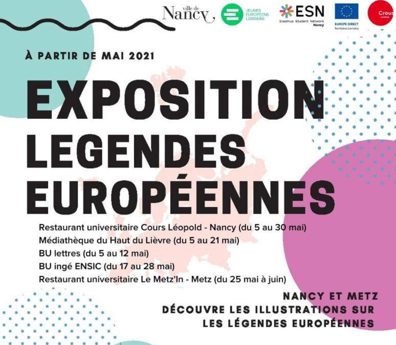 Exposition «l'Europe des Mythes» débarque à Nancy et à Metz !