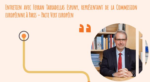 Le Pacte Vert – point de vue de Ferran Tarradellas Espuny