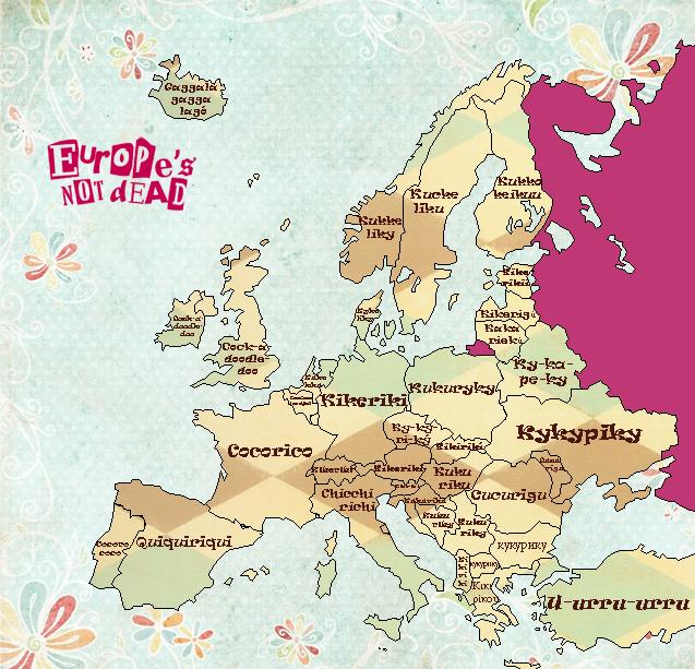 Chants du coq européens