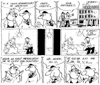 Albania - Comics - Tafe Kusuri