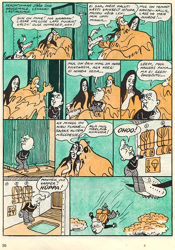 Estonia - Comics - Seiklus Sekontias