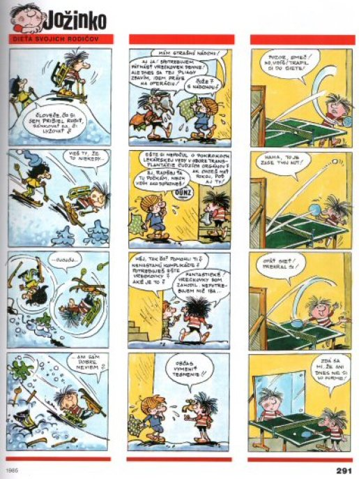 Slovakia - Comics - Jožinko