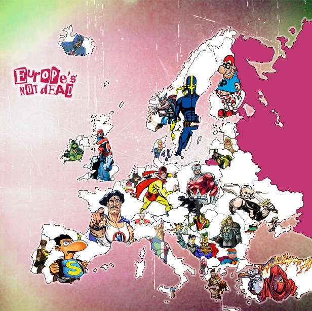 European Superheroes