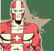 Superheroes - Switzerland - Captain Switzerland