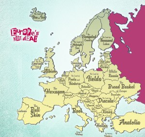 Surnoms des Pays européens